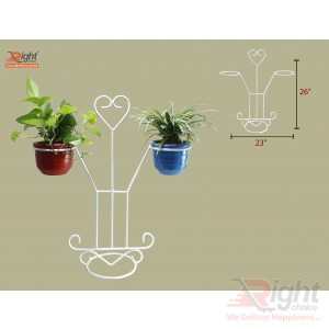 Love Stand Indoor Tob  With Live Plants