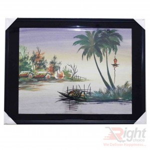 Village River Water Paintings