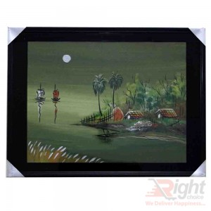 Village River Water Paintings
