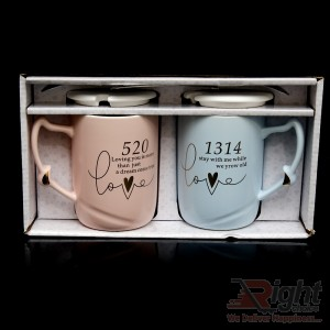 Couples Mugs Set-Love Coffee Mugs Set