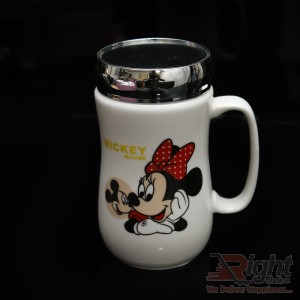 Mickey Mouse Mirror Coffee Mug