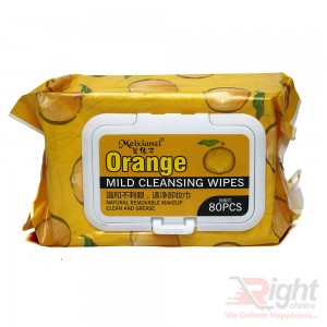 Orange Mild Cleansing Wipes