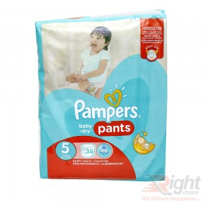 Pampers Baby-Dry Size 5 (XL) Weight (11kg-18kg)