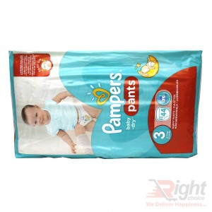 Pampers Baby-Dry Pants Size 3 (S) Weight 6-11kg