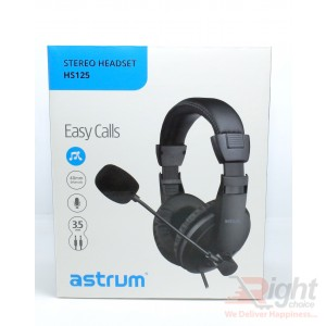 Astrum HS125 Stereo Headset with Microphone