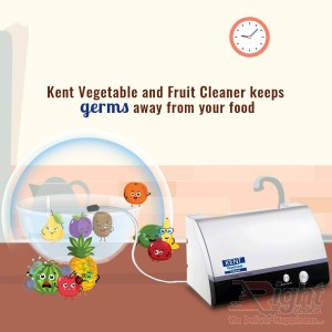 Kent Vegetable and Fruit Purifier - Silver