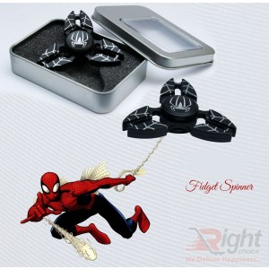 Fidget Spinner (Spider Man-Black)