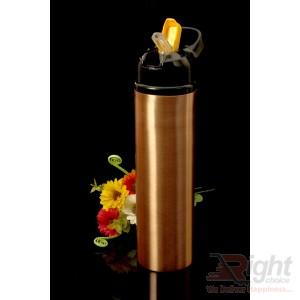Flask Design copper water bottle