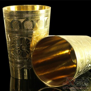 Hand Made Pitol Glass