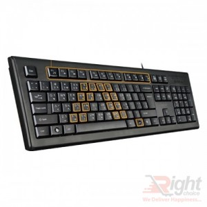 A4TECH KRS-92 Wired Multimedia Keyboard