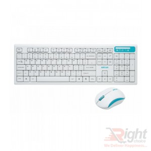 Wireless Slim Keyboard with Mouse Combo