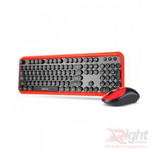 Wireless Keyboard With Mouse Deskset