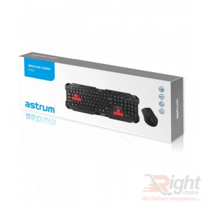Wireless Multimedia Keyboard with Mouse Combo