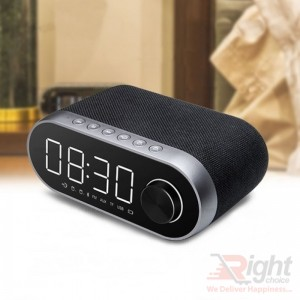 REMAX RB-M26 BLUETOOTH SPEAKER WITH ALARM CLOCK