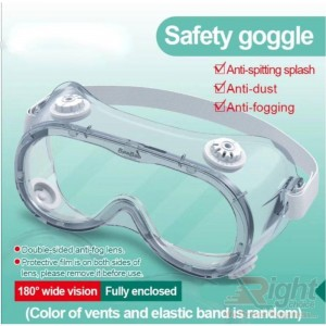 Medical Safety Goggles Protective Eyewear(2 Pcs Combo Set)