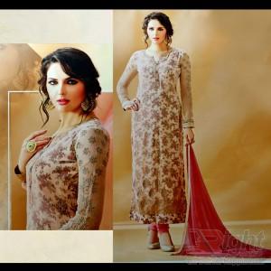 Original Indian (Rose fashion) Multicolor Georgette Unstitch Salwar Kamiz