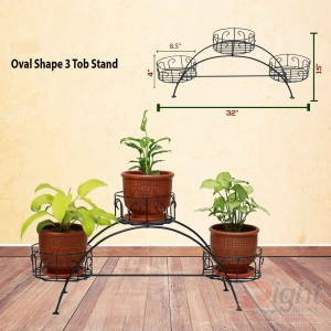 Bridge Shape Indoor Tob stand With Live Plants
