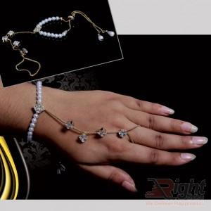 Stone Setting Bracelet Wite