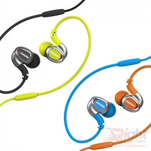 RM-S1 IN-EAR SPORT HANGING EARPHONE HEADSET