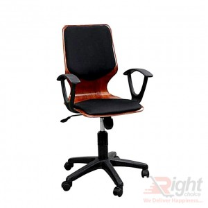 SF-075-K Computer Swivel Chair - Black