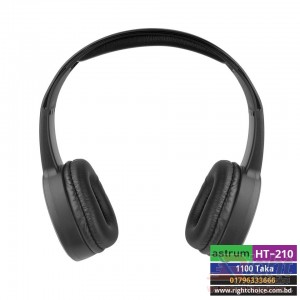 Astrum Wireless Over-Ear Foldable Headset HT210