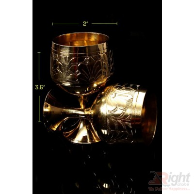 Hand Made Classic Party Glass With Classic Design