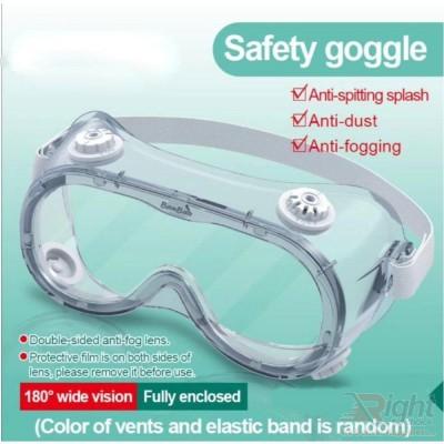 Medical Safety Goggles Protective Eyewear(2 Pcs Combo Set)