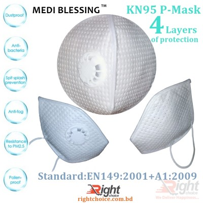 KN95 Protective Mask  5 pcs combo set