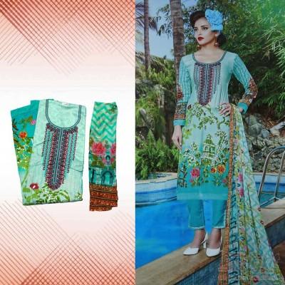 Unstitch Cotton Salwar Kameez